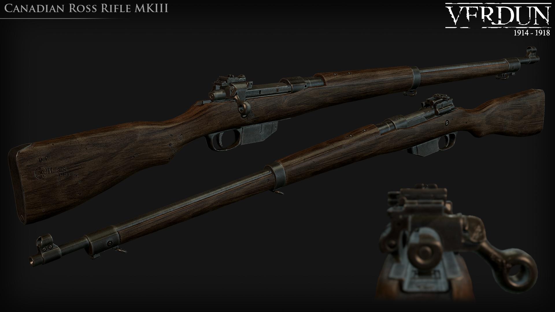 Verdun Ross rifle